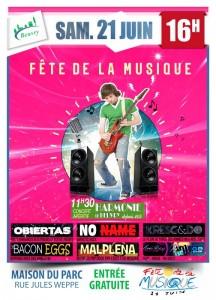 Obiertas en concert à Beuvry pour la Fête de la Musique le 21 juin 2014