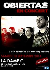 Obiertas en concert à La Dame C